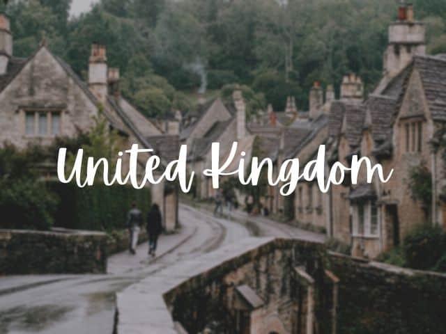 United Kingdom blog posts