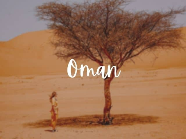 Oman blog posts
