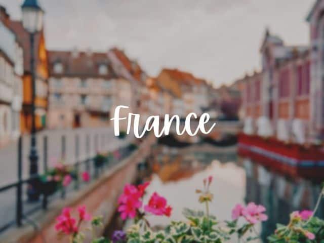 France blog posts