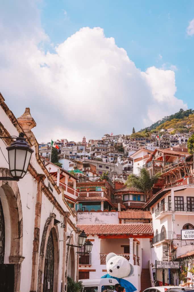 Taxco silver town mexico