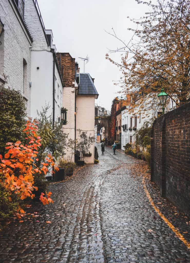 London's prettiest streets and mews - most beautiful streets in London