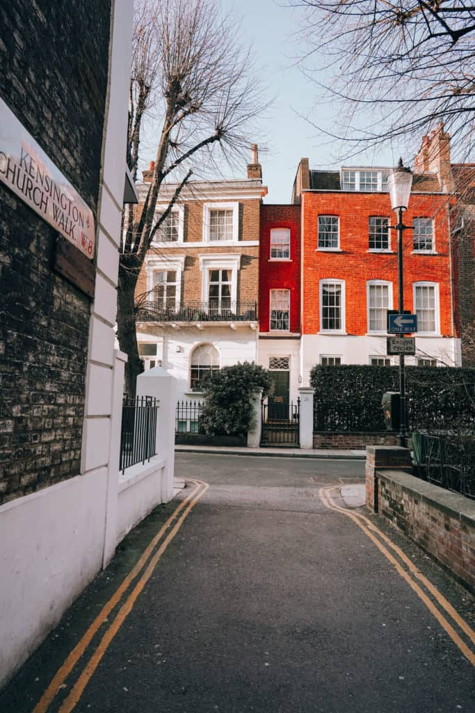 London's prettiest streets and mews - most beautiful streets in London Kensington