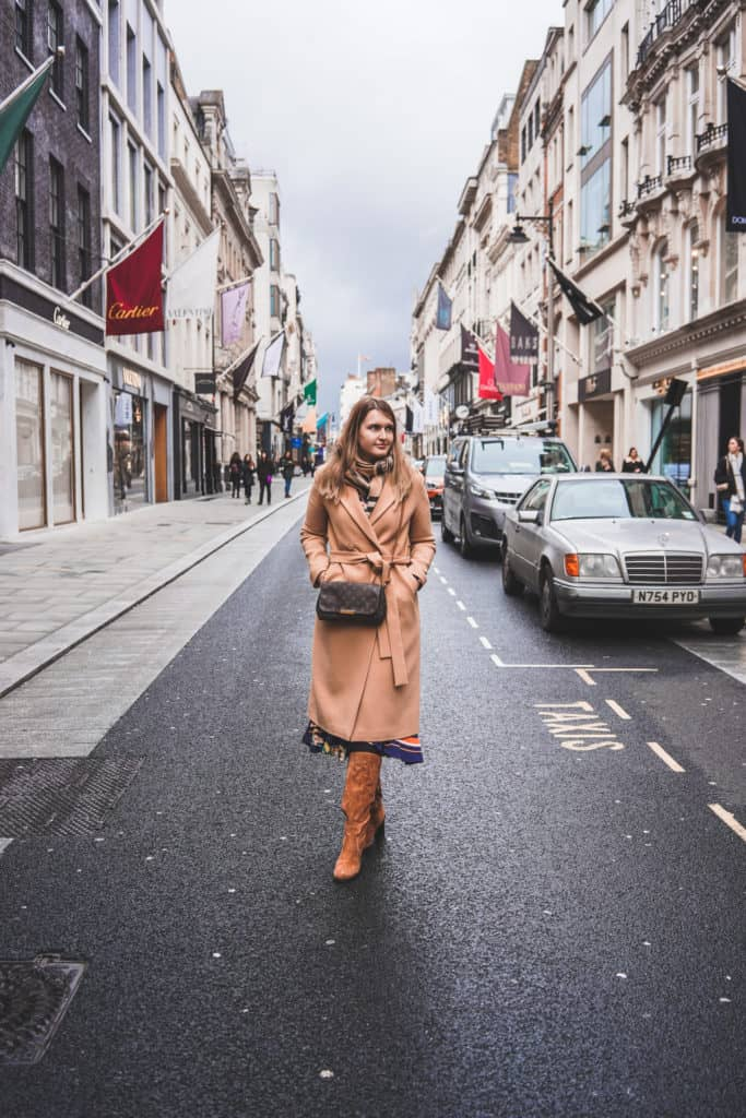 London's prettiest streets and mews - most beautiful streets in London New Bond Street