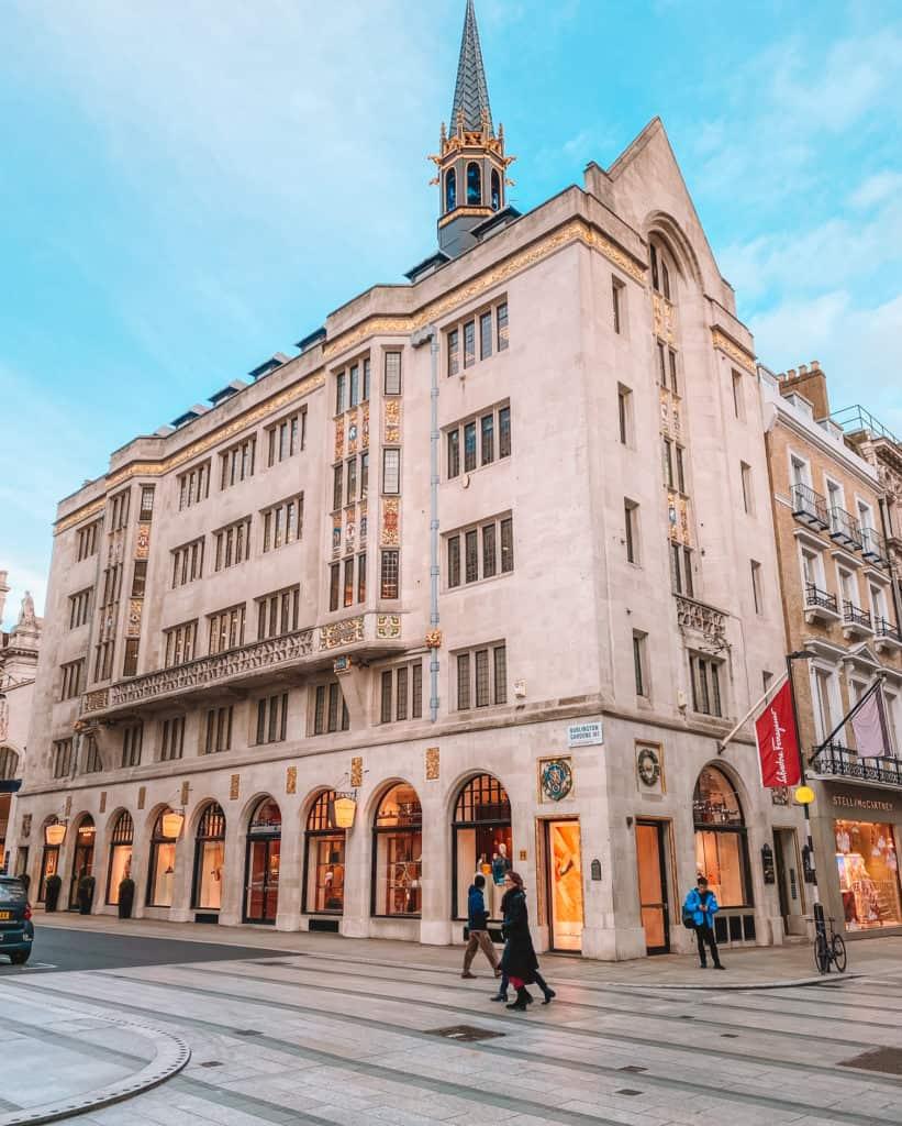 New Bond Street London's prettiest streets and mews - most beautiful streets in London