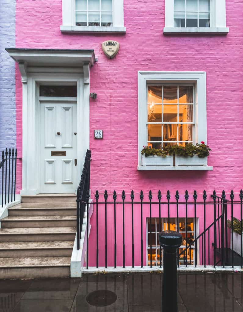 London's prettiest streets and mews - most beautiful streets in London Chelsea