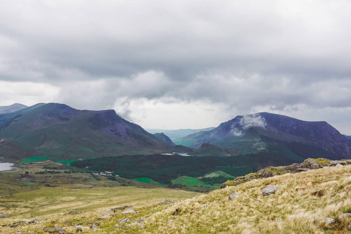 Rhyd Ddu path to Mount Snowdon