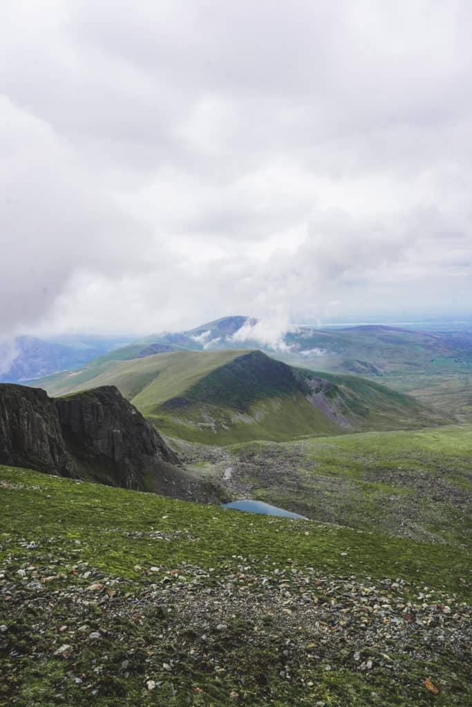 Llanberis hike to Snowdon