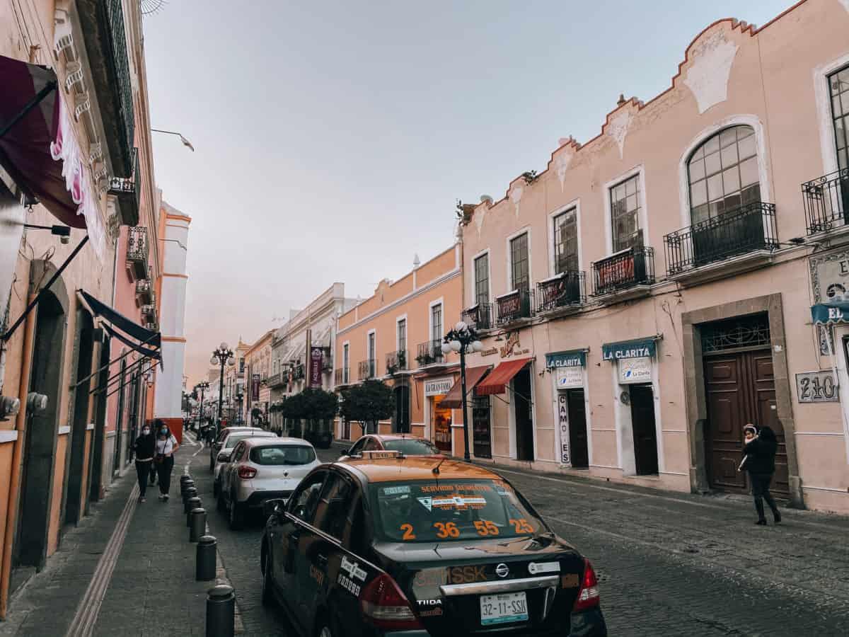 Central Mexico road trip