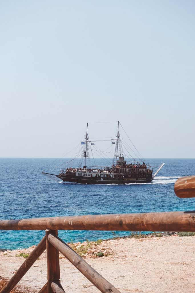 Zakynthos by boat
