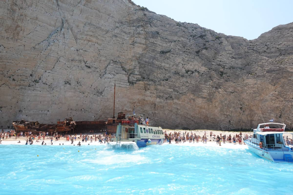 Shipwreck Beach Navagio Zakynthos