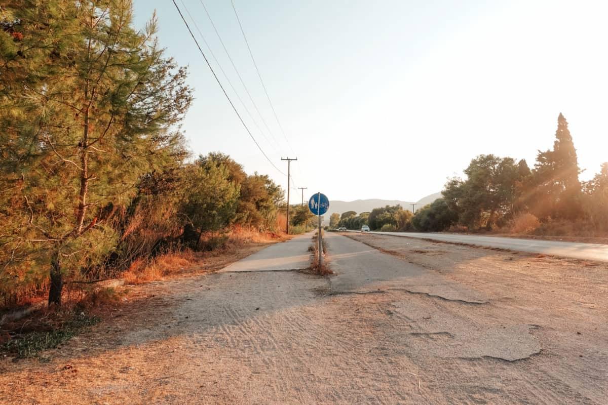 Walk from Kalamaki to Laganas