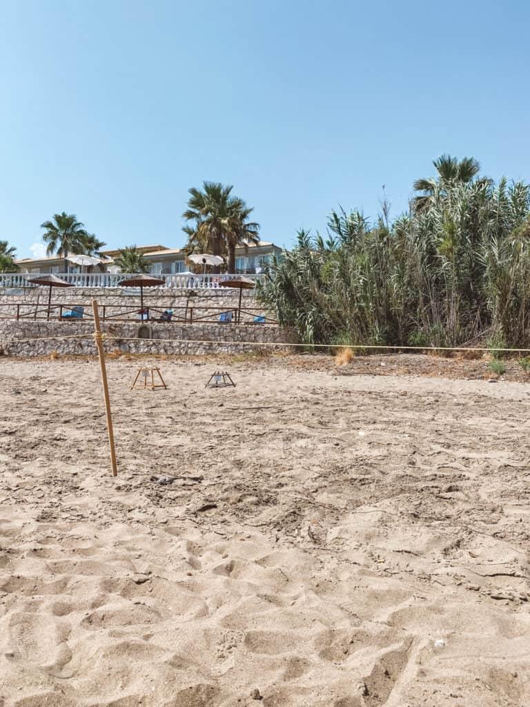 Kalamaki Turtle Nesting Beach