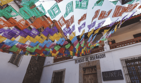 One of the best day trip ideas from Mexico City is a day trip to Taxco de Alarcon,
